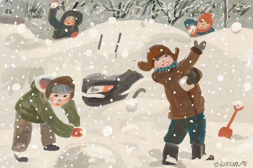 Сумасшедший снегопад в Казани. Только цифры