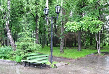Парк в Вахитовском районе.