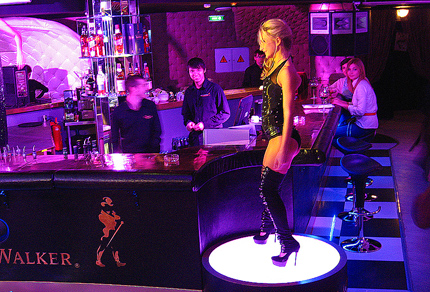 Секс клубах москвы видео