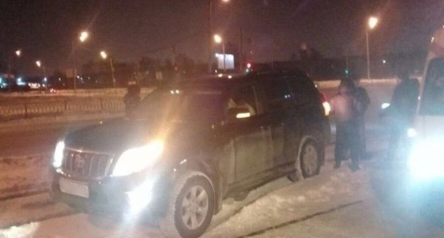ВКазани шофёр скончался зарулём джипа Тоёта