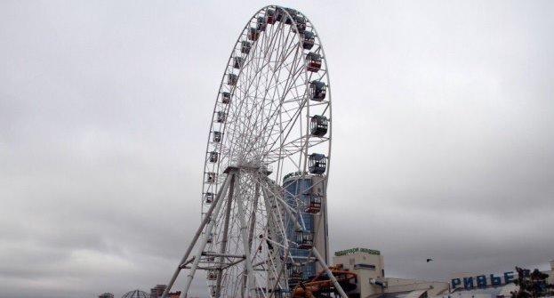 4-ое колесо в«Крылатском»