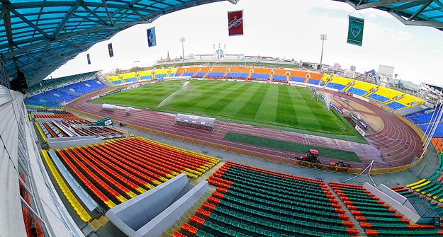 1-ый официальный матч года казанский «Рубин» проведет на основном стадионе