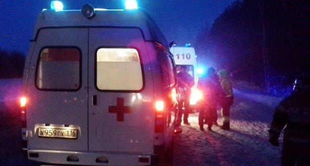 ВДТП натрассе Казань— Оренбург пострадали 7 человек