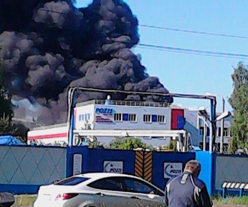 ВЗеленодольске потушили один изцехов завода