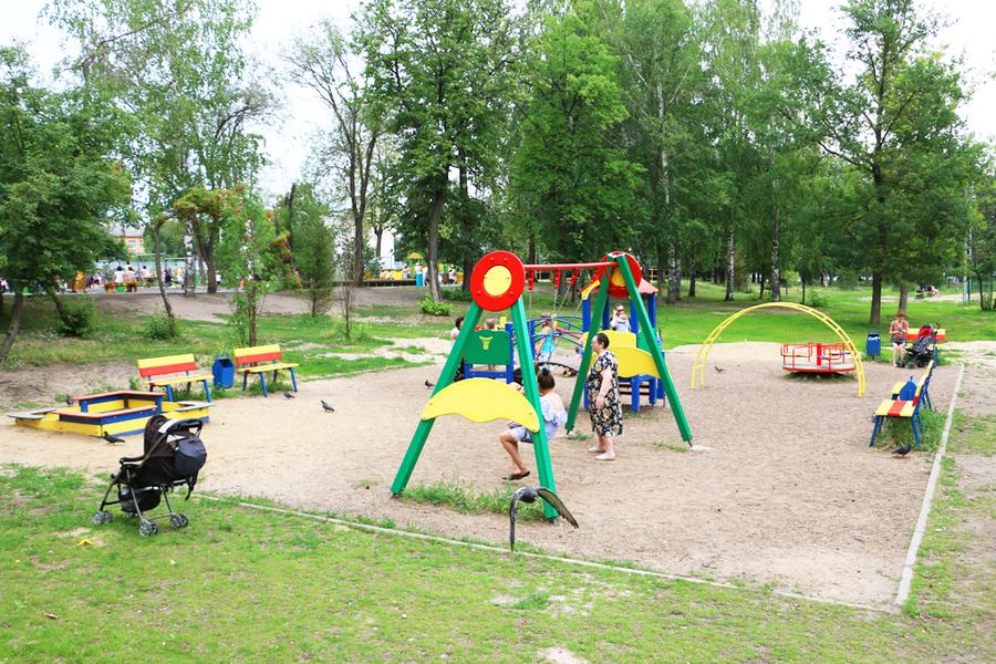 Новая площадка для самых маленьких посетителей. 2015 год. Фото: 7kazan.prokazan.ru