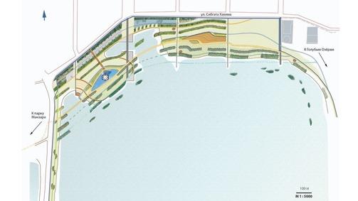 Схема будущего парка