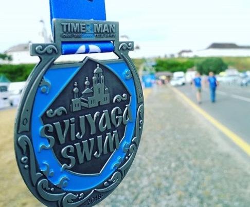 Участникам Sviyaga Swim выдали «неправильные» медали с ошибкой