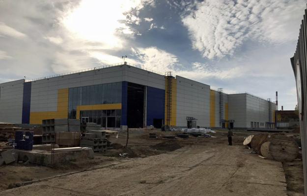 «Лента» строится. Фото: e-Kazan.ru