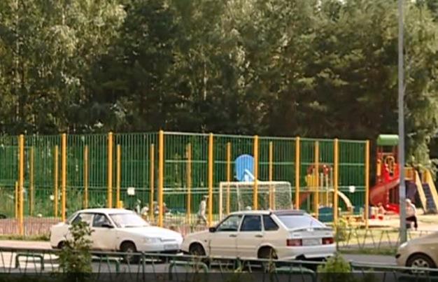 Та самая детская площадка. Фото: ntv.ru