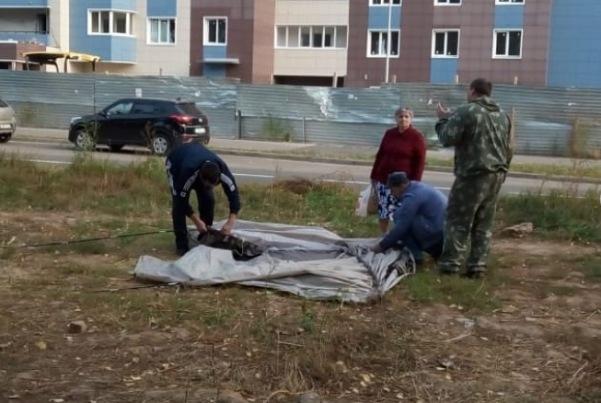 Соципотечники сворачивают лагерь. Фото: instagram.com/salavat_kupere_kzn