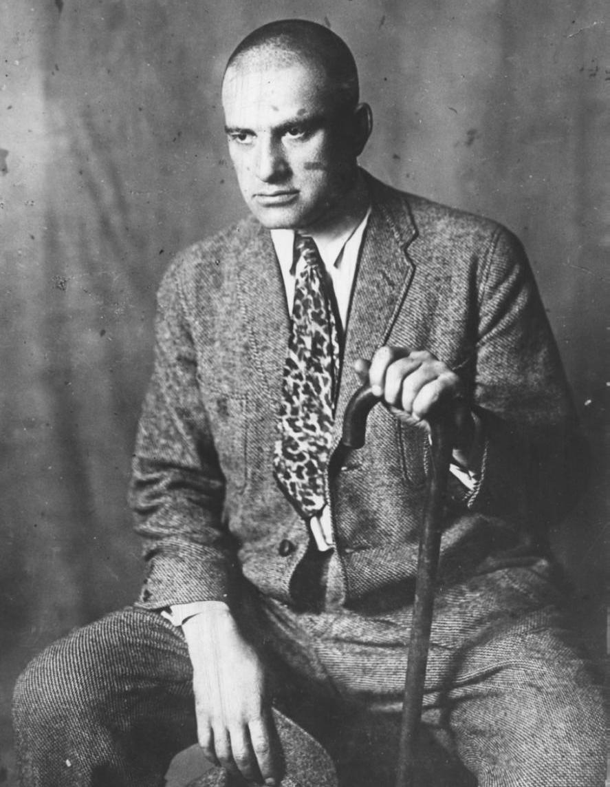 Маяковский в КГУ, 1927 год. Фото: facebook.com