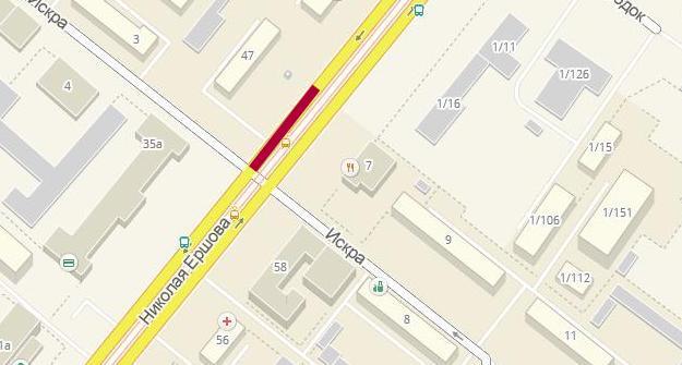 ВКазани практически намесяц ограничат движение вдоль улицы Ершова
