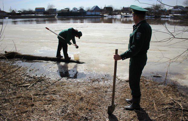 ВКазанку встолице Татарстана сливали канализационные стоки