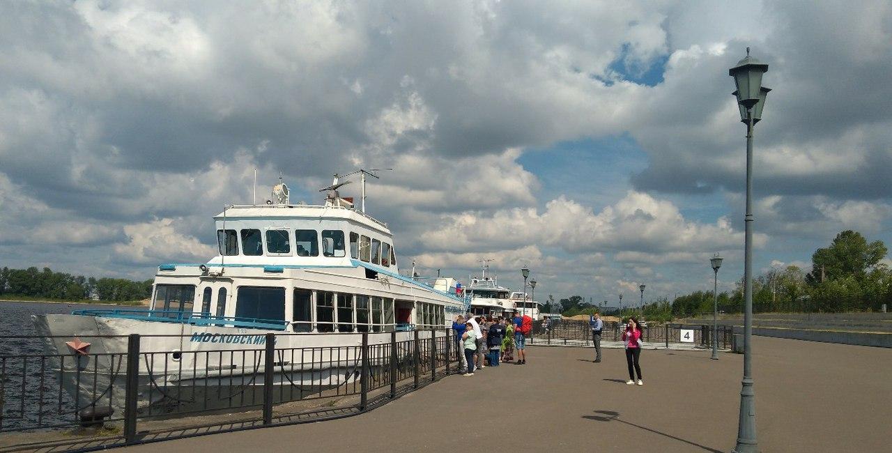 Речной порт в летний период. Фото: vk.com