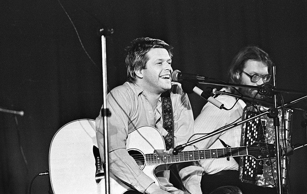 Борис Гребенщиков с концертом в Казани, 1991 год. Фото: Евгений Канаев
