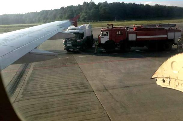 Самолет дозаправили, и он вылетел в Питер. Фото: bash.news
