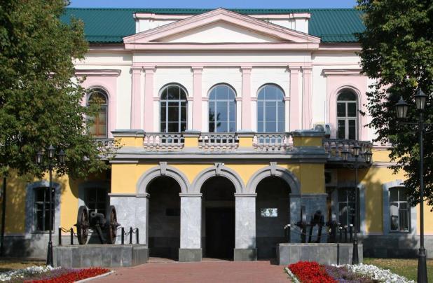 Здание заводоуправления. Фото: kazanpowder.ru