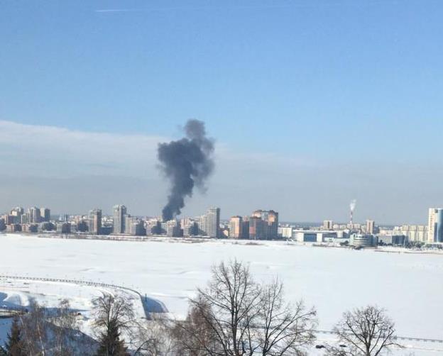 Фото: очевидец для e-Kazan.ru