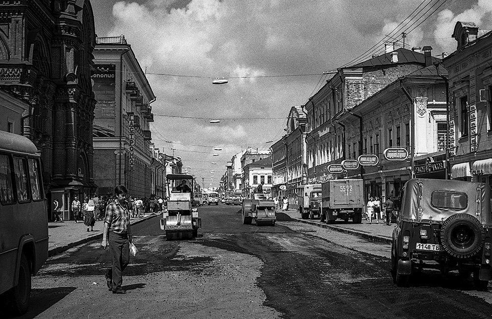 Улица Баумана. Фото: Евгений Канаев