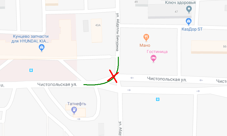 Карта: e-Kazan.ru