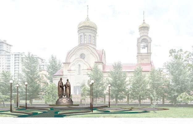 Монумент  Петру иФевронии установят наЧистопольской вКазани