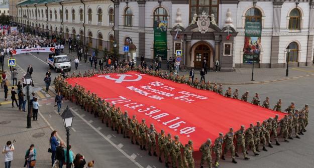 Вакции «Бессмертный полк» примут участие около 100 000 казанцев