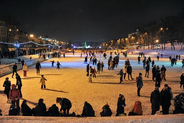 Каток на «Черном озере». Фото: tatarstan.ru