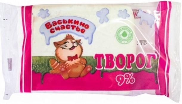 9%-й творог «Васькино счастье». Фото: roskachestvo.gov.ru