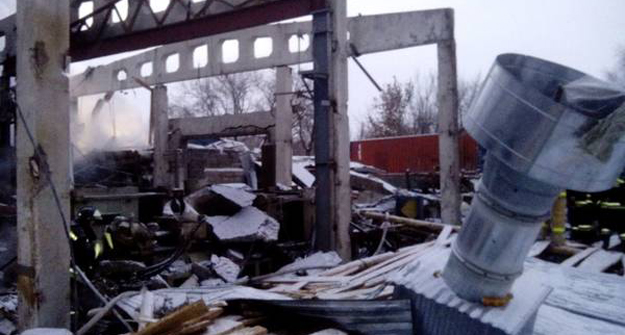 Впожаре напроизводстве вНижнекамске погибли пятеро, возбуждено дело