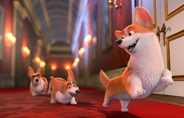 Кадр из мультфильма «Королевский корги». «Вольгафильм»
