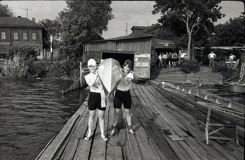 Фото: Спортивная база на Кабане, 70-е. Фото: facebook.com