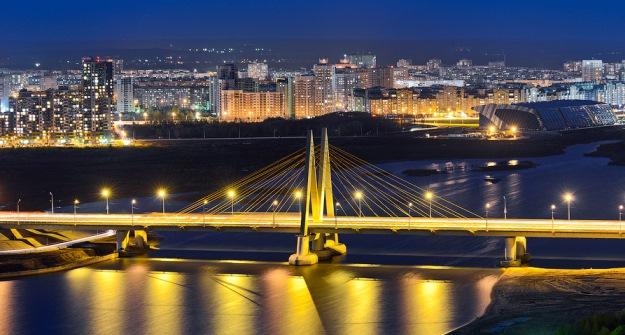 КЧМ-2018 вКазани подсветка зданий будет приведена кединому стилю