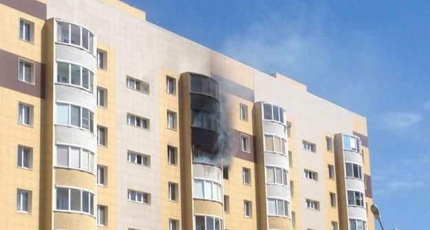Пожар вжилом доме поселка Осиново произошел из-за небрежного курения