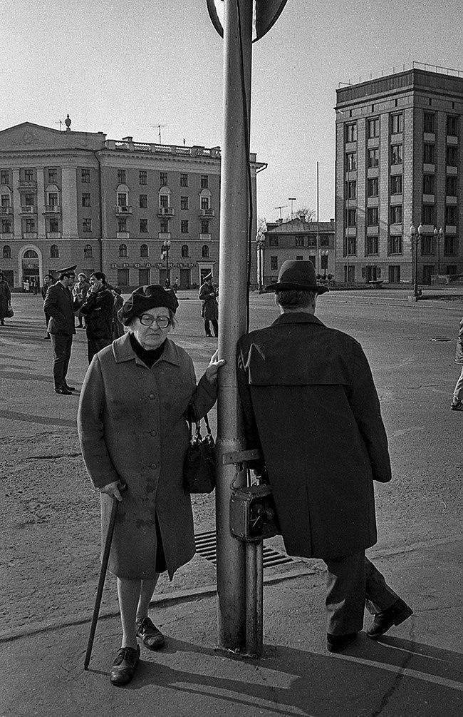 Площадь Свободы, 1991 год. Фото: Евгений Канаев