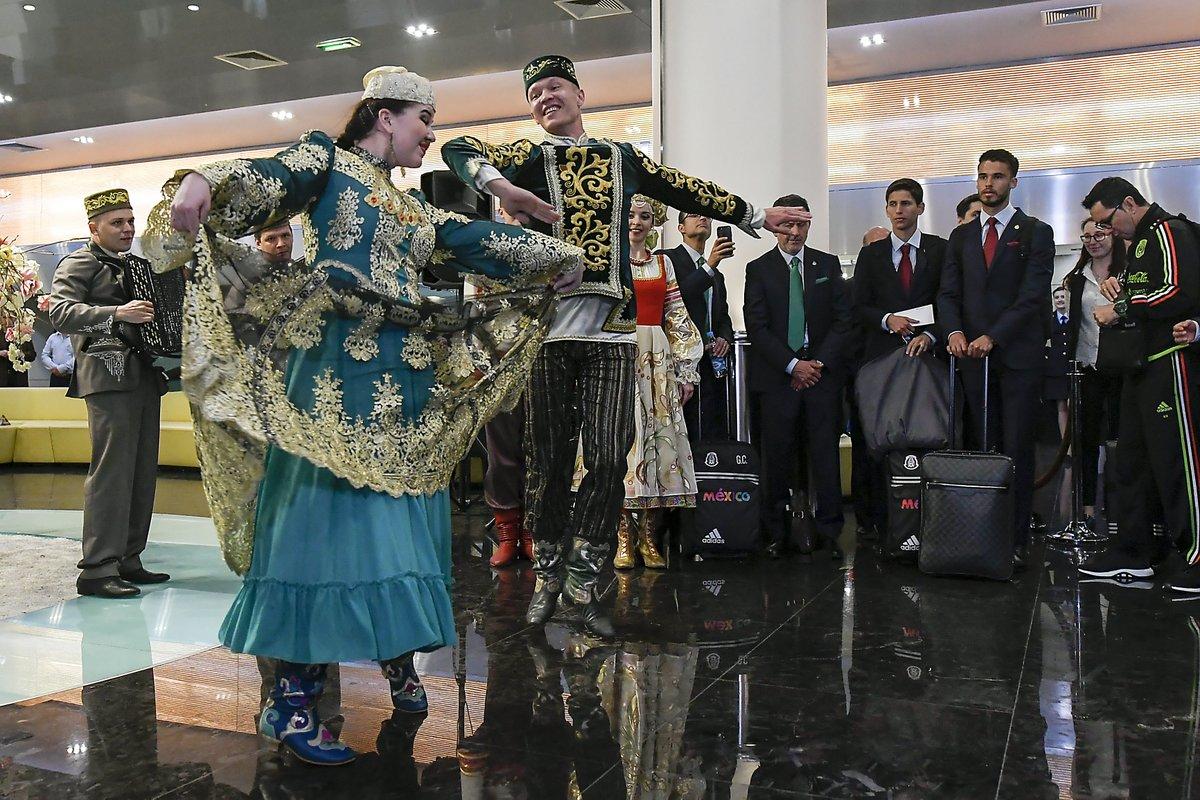 Сборная Мексики прилетела вКазань