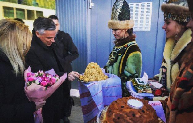 Рустам Минниханов встретился спослом США в РФ