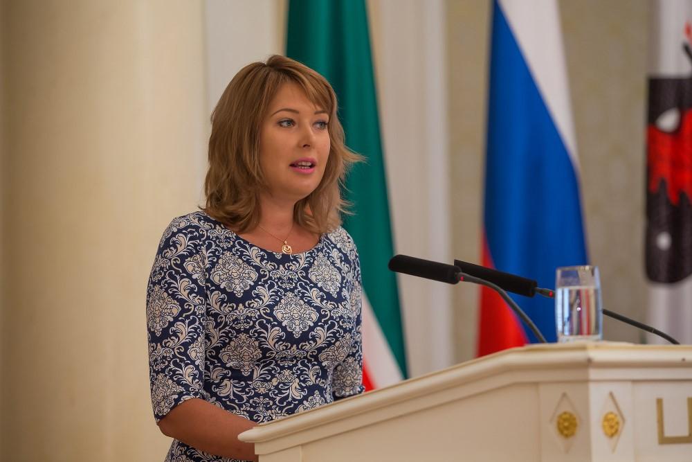 Евгения Лодвигова избрана первым заместителем Ильсура Метшина