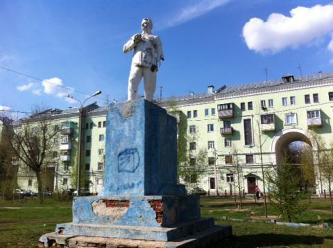 Тот самый памятник Орджоникидзе. Фото: uslugi.tatarstan.ru