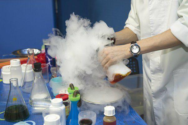 Эффектные опыты по химии в домашних условиях