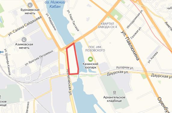 Схема: «Яндекс. Карты»