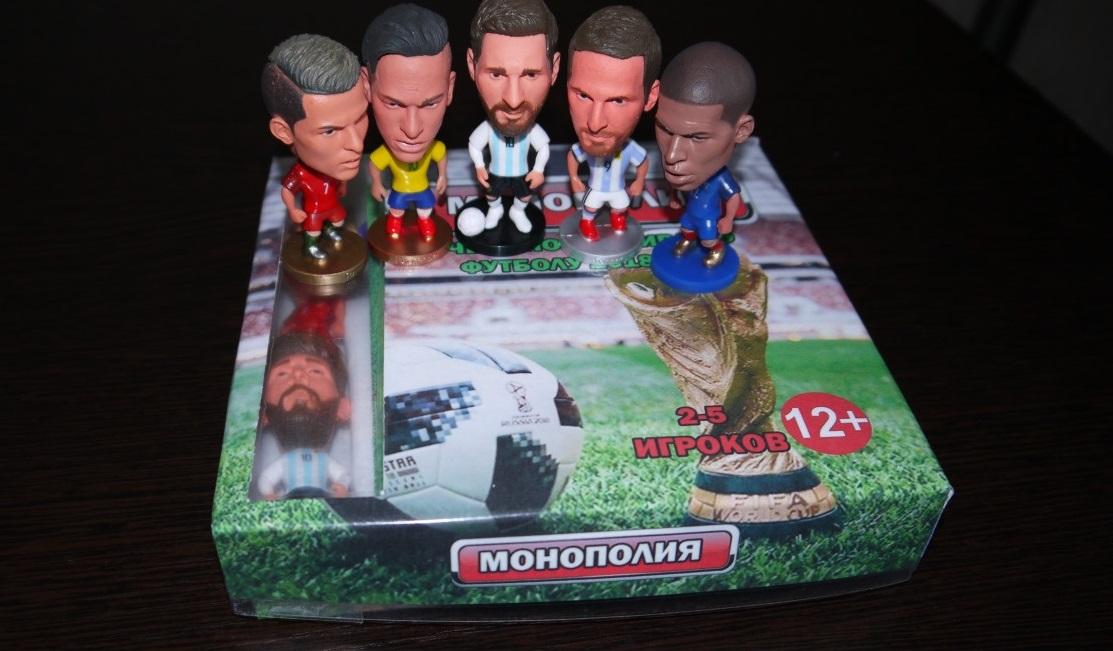 3D-фигуры футболистов. Фото: avito.ru