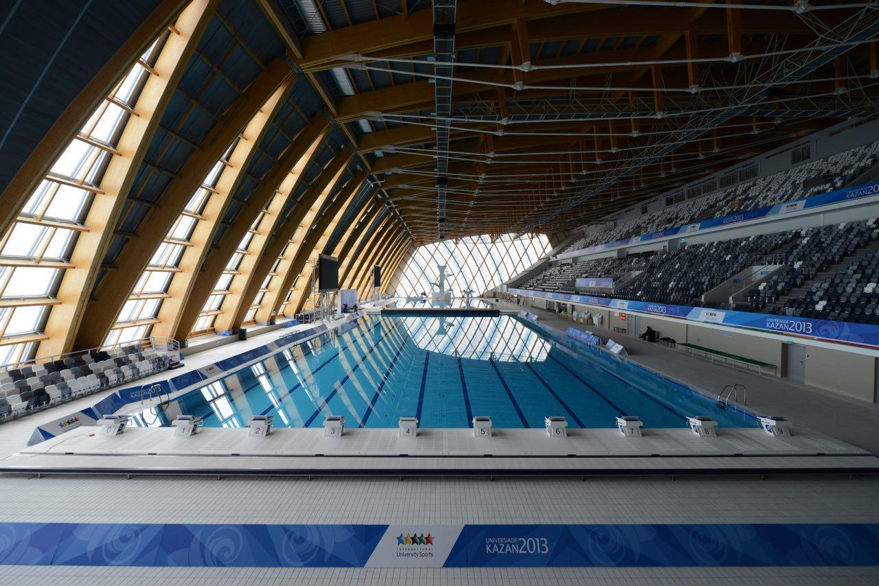 «Дворец водных видов спорта». Фото: archi.ru