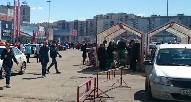 ВКазани изТЦ «Парк Хаус» эвакуировали гостей