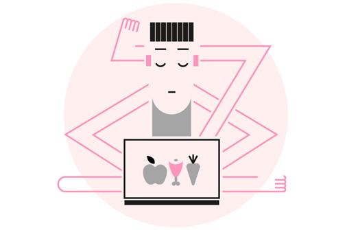 Валентин работает из дома. Иллюстрация: e-Kazan.ru