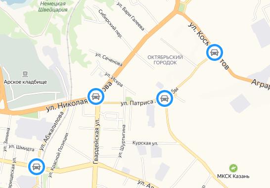 Схема: e-Kazan.ru
