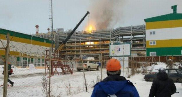 Ростехнадзор начал свое расследование пожара на«Таифе» вНижнекамске