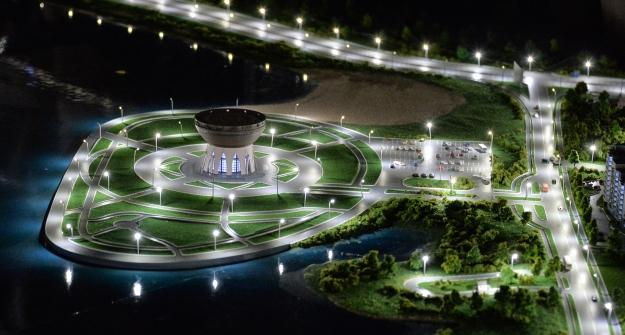 ВКазани открылся новый выставочный центр «Городская панорама»