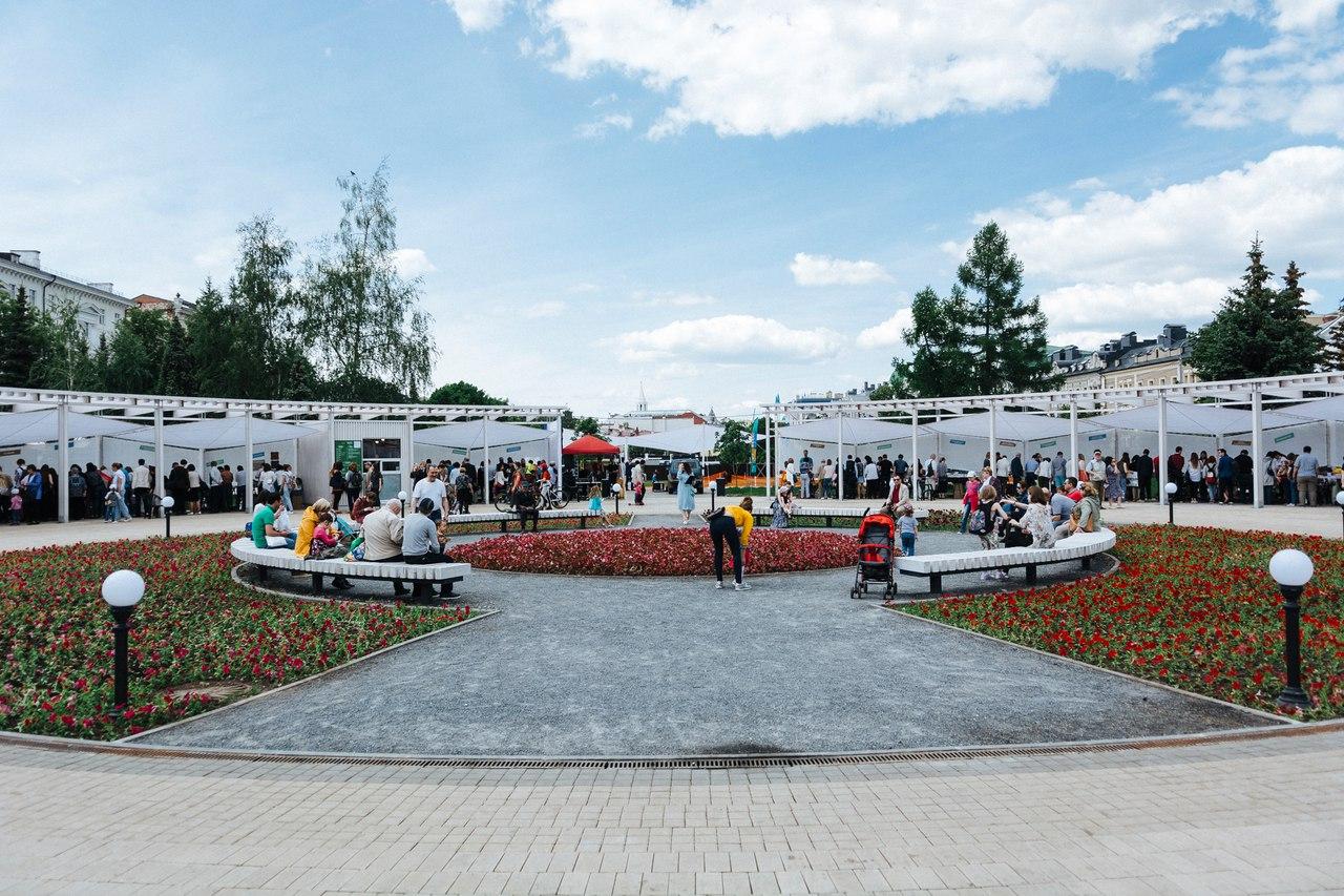 Новый вид центрального круга. Фото: archimetal.ru