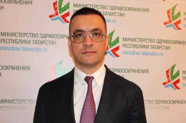 Айрат Гарипов. Фото: minzdrav.tatarstan.ru